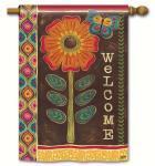 Magnet Works Gypsy Garden Standard Flag