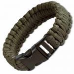 Boker Plus Survival Bracelet, 9 in., Olive Drab