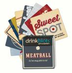 Magnet Works Baseball Lingo Coasters