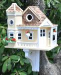 Home Bazaar Classic Series Sea Cliff Cottage Birdhouse (Yellow)