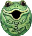 "Songbird Essentials Frog ""Gord-O"" Birdhouse"