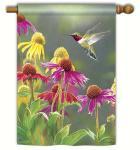 Magnet Works Hummingbird Heaven Standard Flag
