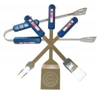 Chicago Cubs 4 Piece BBQ Set