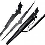 Bat Lightening Bolt Striking Sword