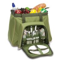 Picnic Time Toluca Cooler Tote, Pine Green