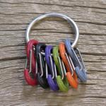 Nite-ize S-Biner Key Ring - Stainless Steel
