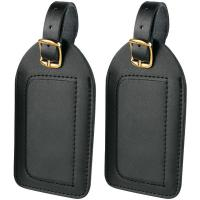 Travel Smart By Conair P2010 Leather Luggage Tags, 2 pk