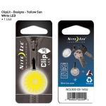 NITE IZE ClipLit Designs - Yellow Sun
