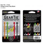 """Nite-ize Gear Tie 3"""" 4 Pack - Assorted Colors"""