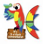 Premier Designs Island Parrot Spinner 20 inch