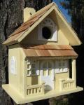Home Bazaar Country Cottage Birdhouse (Yellow)