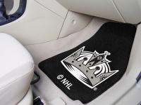 Los Angeles Kings 2-pc Printed Carpet Car Mat Set