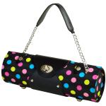 Picnic at Ascot Wine Purse - Julia Dot Black