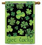 Magnet Works Get Lucky Double Sided Standard Flag