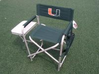 Miami Hurricanes Ultimate Director's Chair