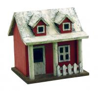 Songbird Essentials Picket Fence Cottage Birdhouse