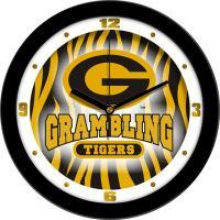 "Grambling Tigers 12"" Wall Clock - Dimension"