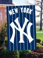 "New York Yankees MLB Oversized 44"" x 28"" Applique Banner Flag"