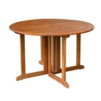 Merry Products Eucalyptus Folding Dining Table
