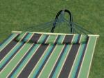 Bliss Hammocks Oversized Hammock w/ Spreader Bars & Pillow, Country Club