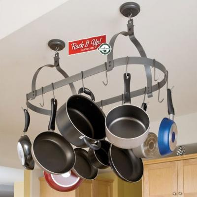 Rack It Up! by Enclume Enclume Rack it Up Oval Pot Rack with Grid