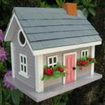 Home Bazaar Vineyard Cottage - Grey