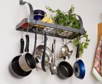 Enclume Rack It Up Bookshelf Pot Rack
