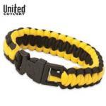 United Elite Forces Survival Bracelet Yellow