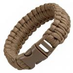 Boker Plus Survival Bracelet, 9 in., Coyote
