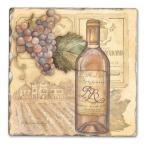 Counter Art Vineyards Single Tumbled Tile Coaster