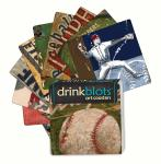 Magnet Works Baseball Coasters
