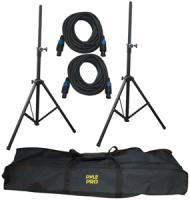Pyle-pro Heavy-duty Pro Audio Speaker Stand & Speakon® Cable Kit