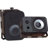 """Pyle PDWR40B 5.25"""" Indoor/Outdoor Waterproof Speakers (Black)"""