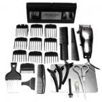 Wahl 26 Piece Chrome Deluxe Clipper Kit