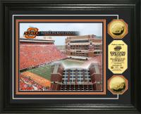 Oklahoma State University Boone Pickens 24KT Gold Coin Photomint