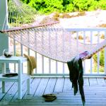 Pawleys Island Presidential Size Cotton Rope Hammock