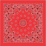 Liberty Mountain Bandana Paisley Blue/red