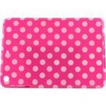 Accellorize 16150 Pink Dot Ipad Air, Case Flips Open & Closes