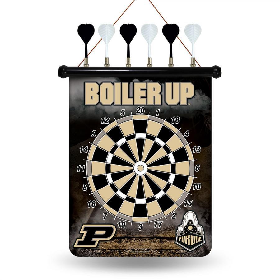Rico Purdue Boilermakers NCAA Magnetic Dart Board