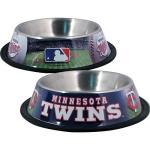 Minnestoa Twins Stainless Dog Bowl