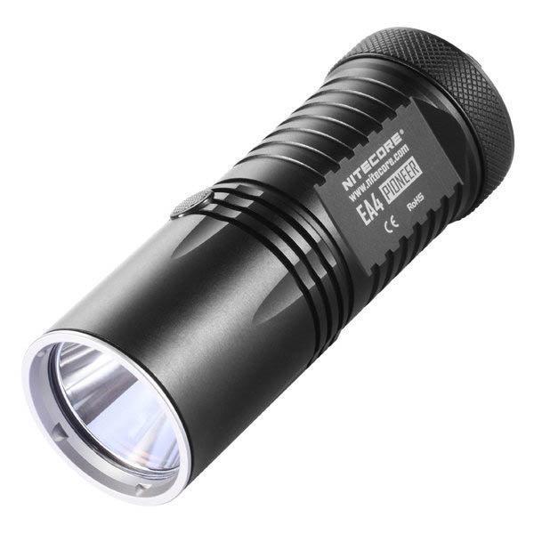 Nitecore EA41 Explorer Black Flashlight, 960 lm