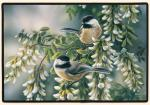 Fiddler's Elbow Chickadees Doormat