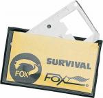 Fox Survival Card Stainless Steel