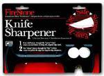FireStone 2-Stage Knife Sharpener, Black