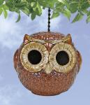 Coyne's Company Owl Birdhouse