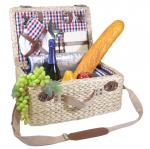 Picnic Gift - Picasso - Deluxe Two Person Insulated Picnic Basket