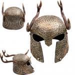 Elder Scroll Female Nord Helmet With Stag Antlers