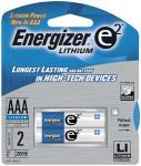 e2 Lithium L92BP-2 Lithium Batteries (AAA, 2-pk)