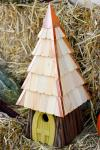 Heartwood 195A Lord of the Wing Bird House - Yellow
