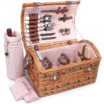 Picnic & Beyond Couture Collection - (B) 2 Person Willow Picnic Basket